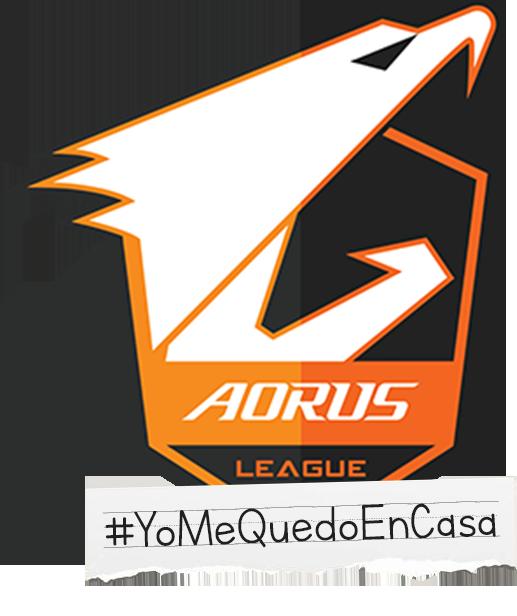 Aorus league quedateencasa