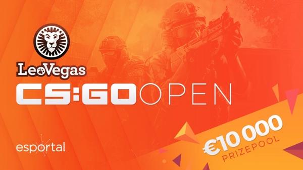 600px leo vegas csgo open logo