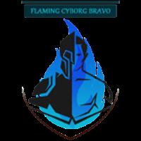 Flaming Cyborg Bravo